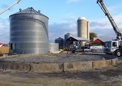 Plancher de silo